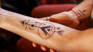 Водоустойчиви временни татуировки