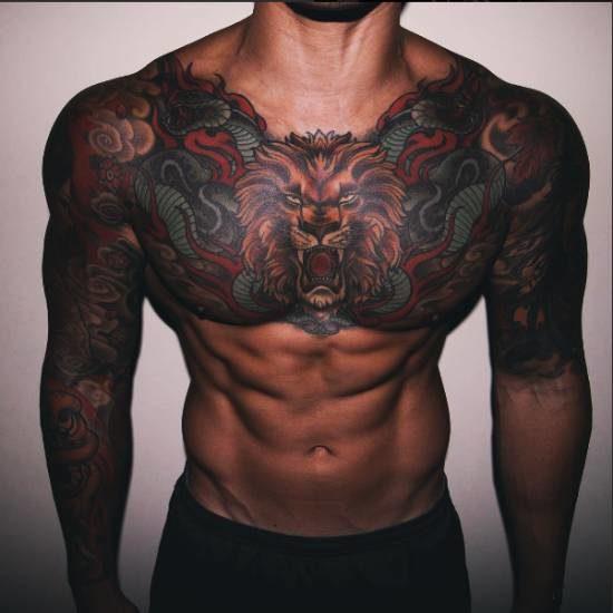 Цени за татуиране на мъжко тяло